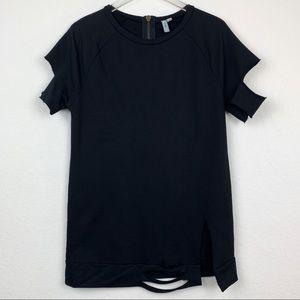 ASOS | Distressed Short Sleeve Sweatshirt
